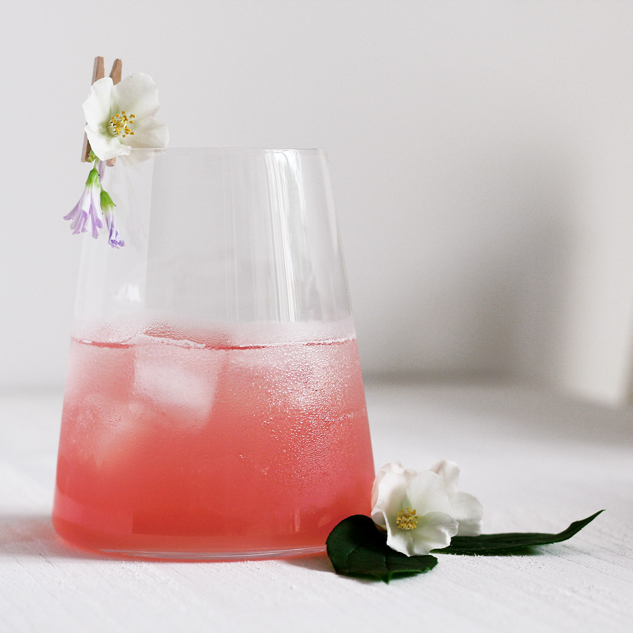 Double Rhubarb Gin Fizz