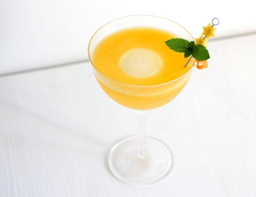 Mango Peach Gin Tonic / Sour