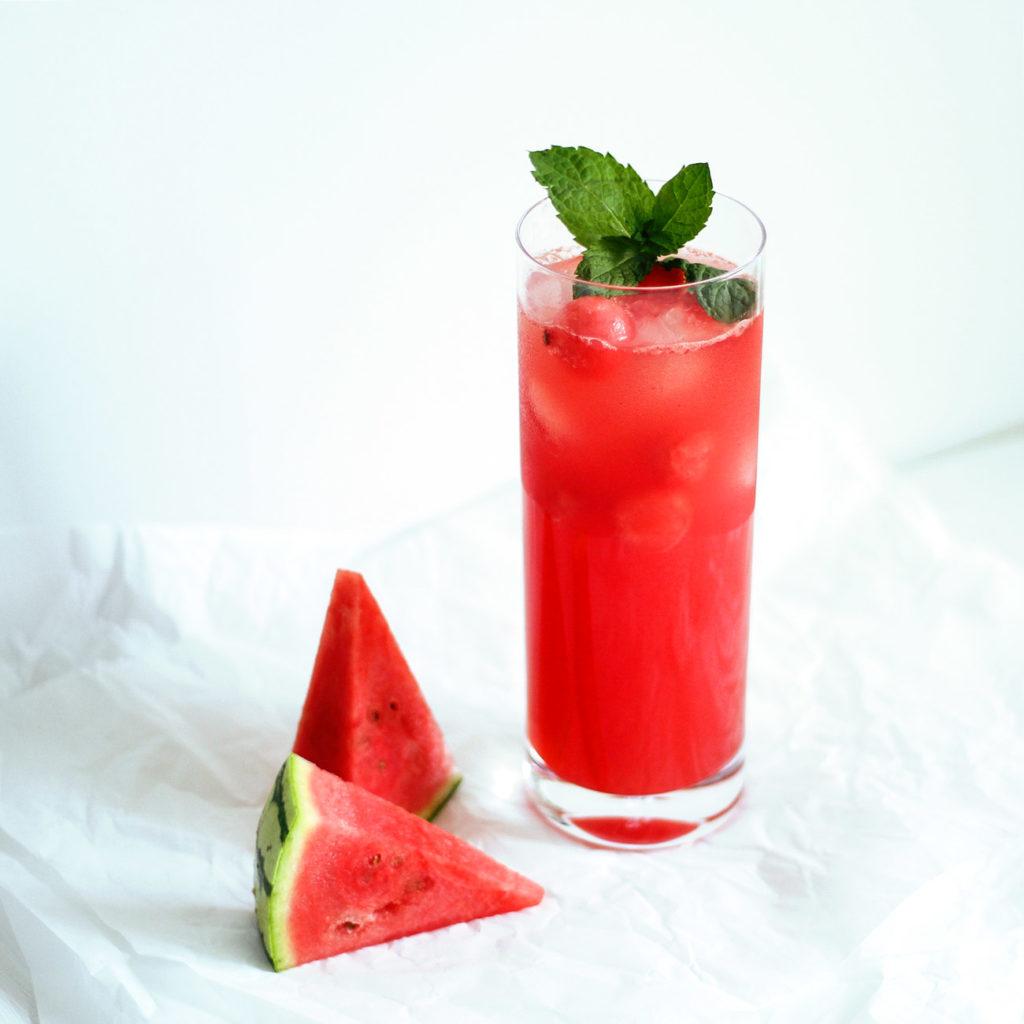 Melon Fizz mit Vodka & Triple Sec