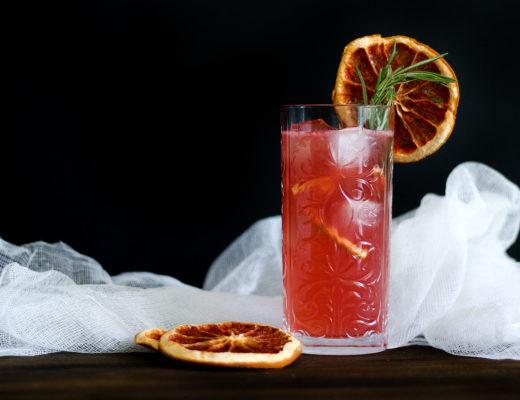 Grapefruit Negroni Sparkler